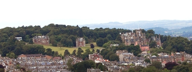 A view of the Craighouse site as it is today