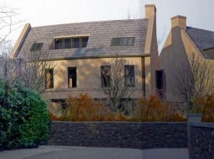 Entrance lodge houses