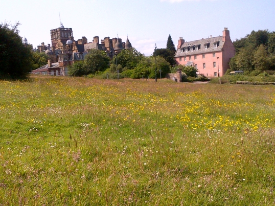 craighouse buildings and meadow
