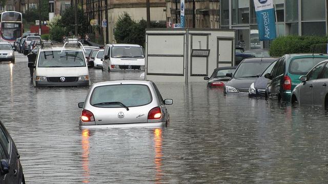 flooding balcarres